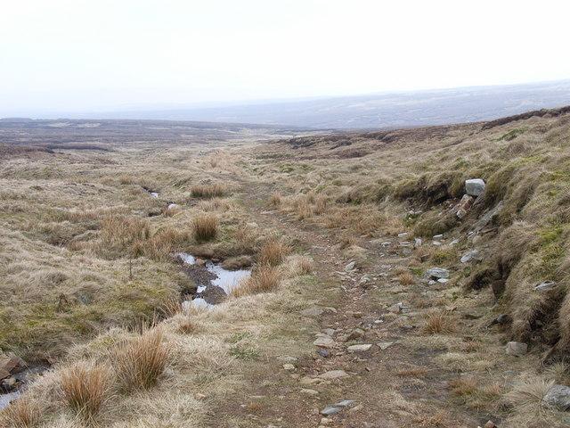 Bridleway below Dunfell Hush
