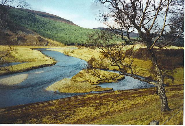 River Dee at Braemar.