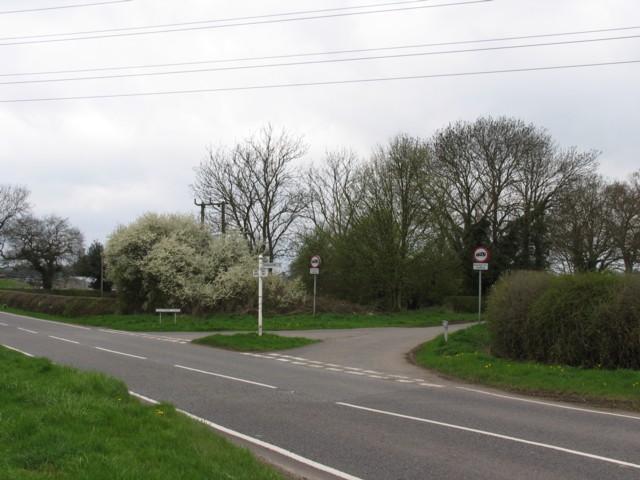 B585/Osbaston Lane Junction