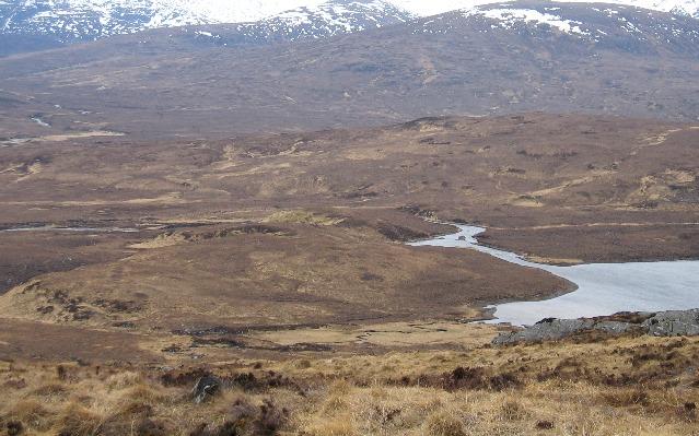 Outflow of Loch Gharbhrain
