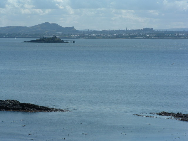 Inchmickery from Inchcolm