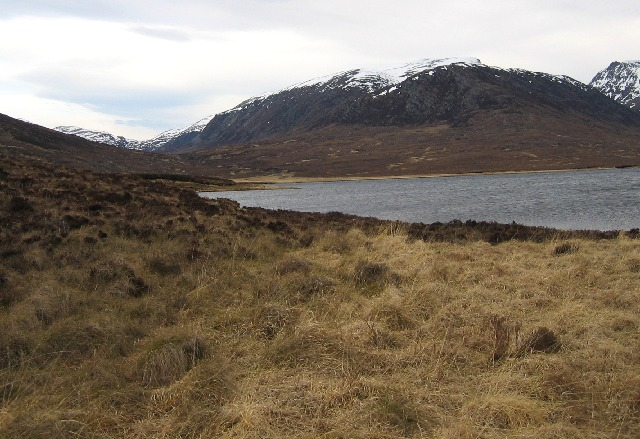 West side of Loch a' Gharbhrain