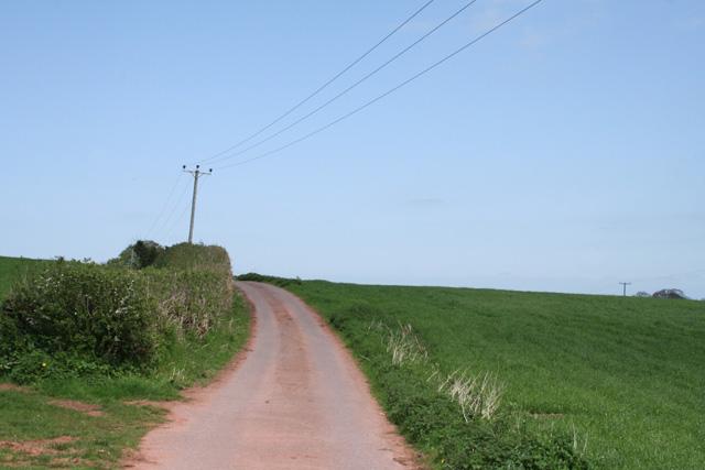 Langford Budville: back lane