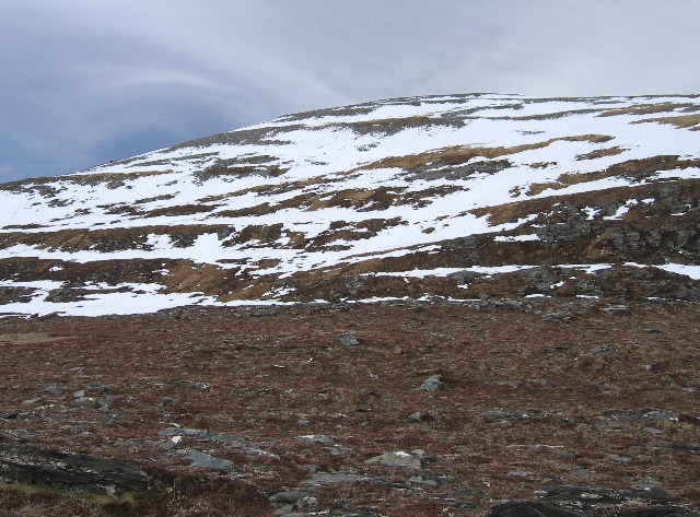 Western side of Am Faochagach