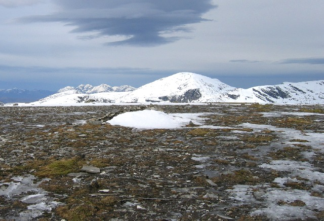 Summit of An Faochagach