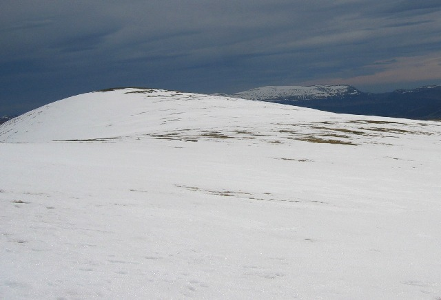 Outlying top Meall Gorm