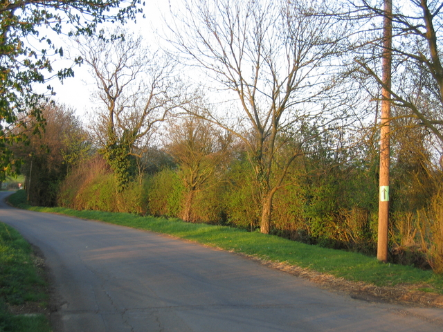 Arlescote road.