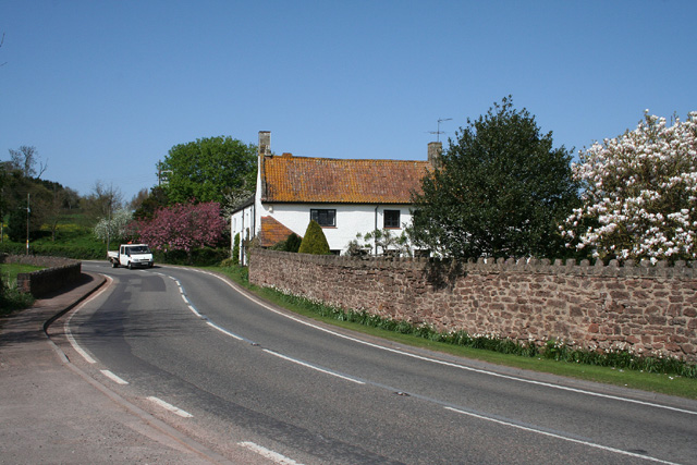 Milverton: road at Preston Bowyer