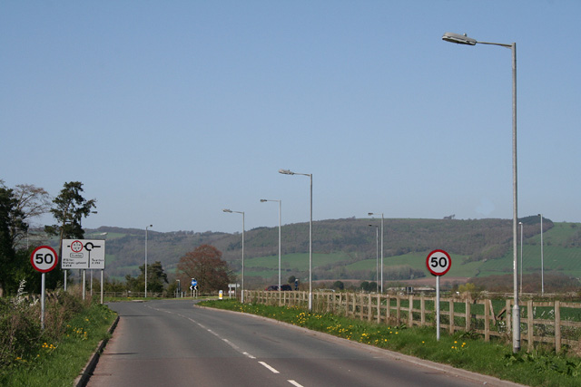 Bishops Lydeard: towards Dene Cross