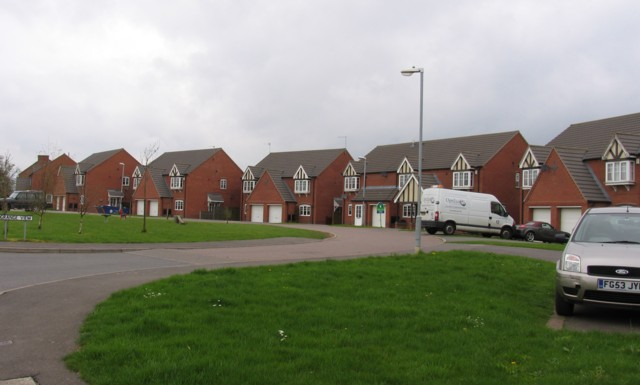 New houses at Battram