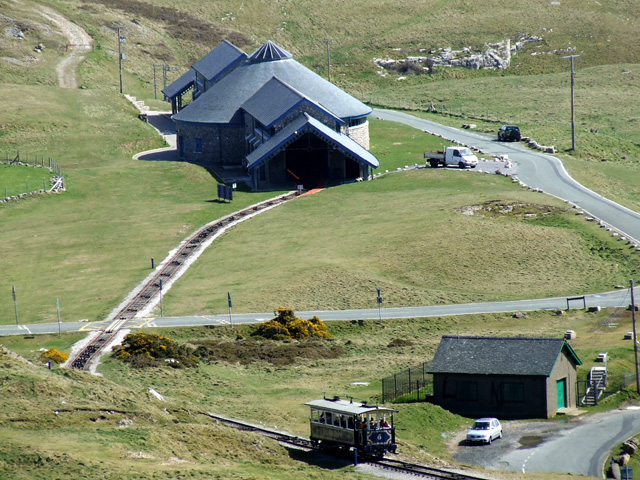 Halfway Tram Station on the Great Orme