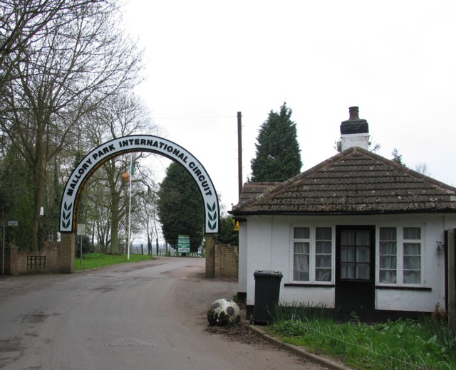 Entrance to Mallory Park racing circuit