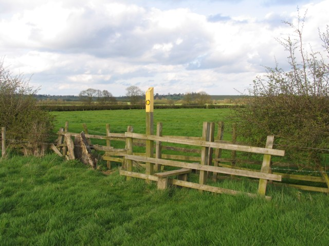Double stile looking one way