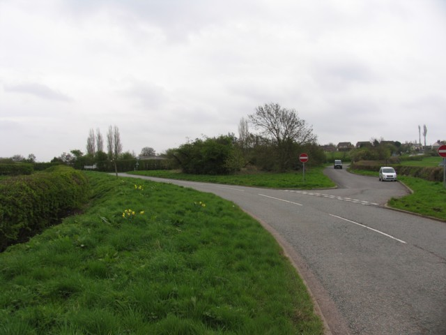 Shilton Road/A47 junction