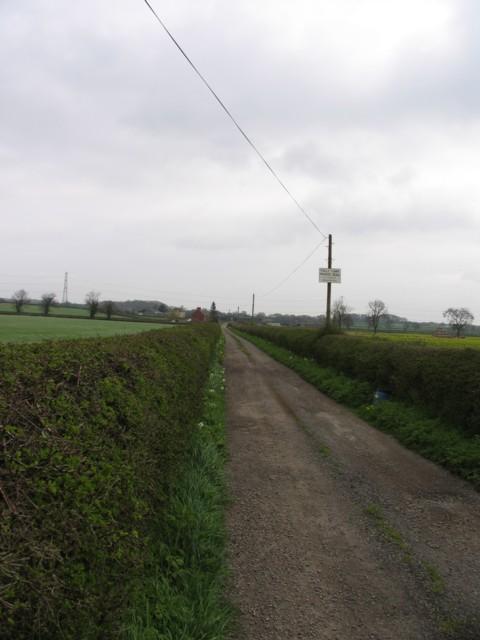 Driveway to Folly Farm