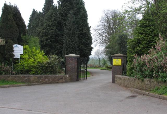 Earl Shilton Cemetery entrance