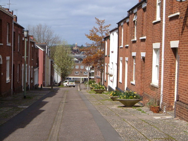 East John Street, Newtown, Exeter
