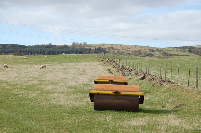 Two rollers in a field