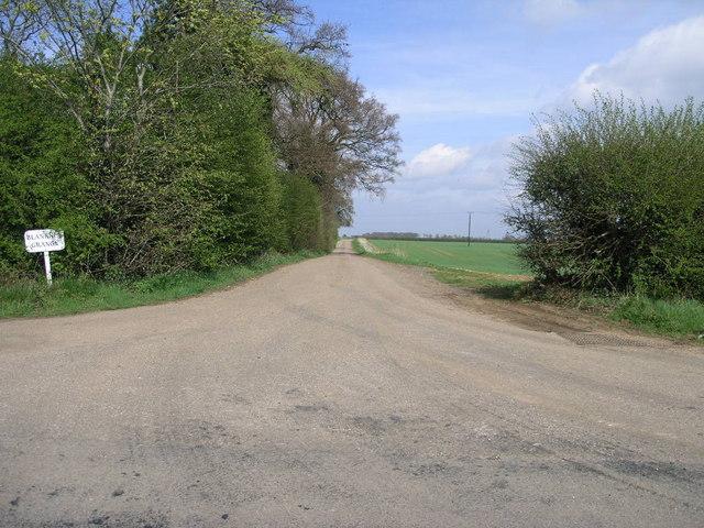 Lane to Blankney Grange
