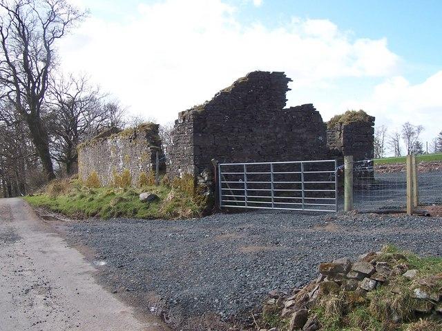 Cardross,  Derelict Farm Building