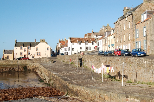 Harbour and Shore St, Cellardyke