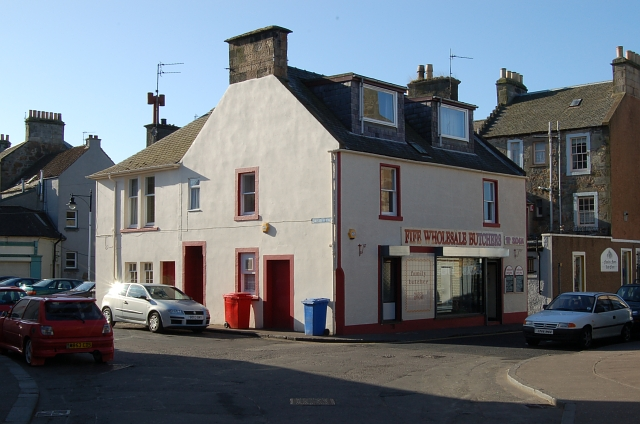 Cards Wynd area, Anstruther