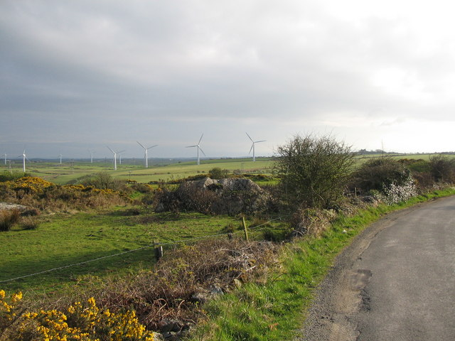 An Anglesey wind farm