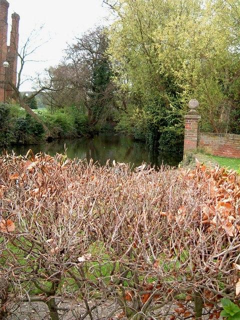 Salisbury Hall - The Moat