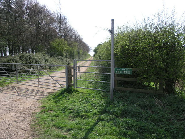 Bridleway and Cycle Track