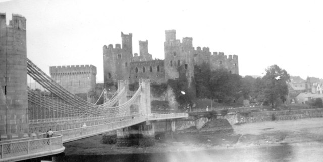 Conwy Bridge and Castle