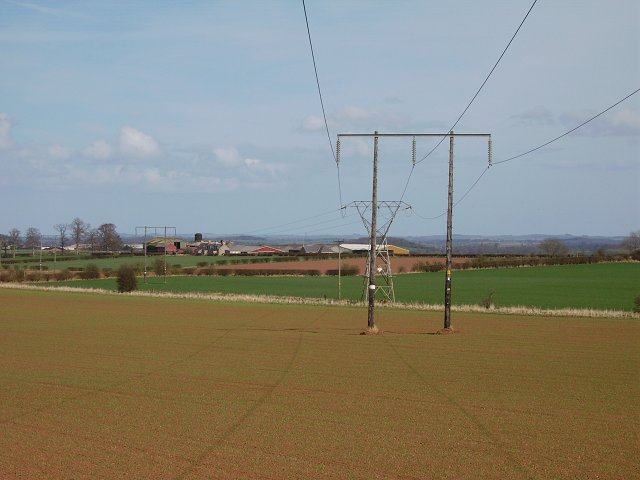 Power lines. Hume