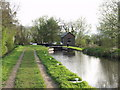 SJ3225 : Montgomery Canal, Aston bottom lock by John Haynes