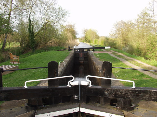 Montgomery Canal, Aston Middle (No 2) Lock