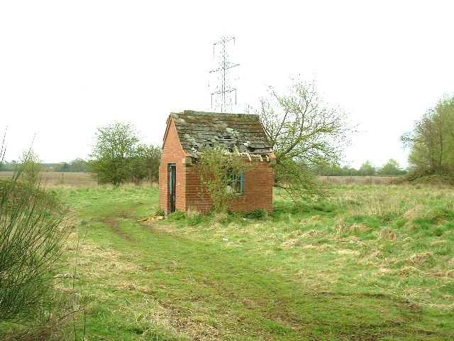 Carlton Nr Goole: Derelict Pumphouse