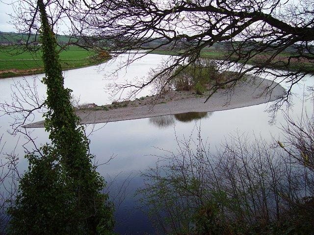 Island in the Tweed.
