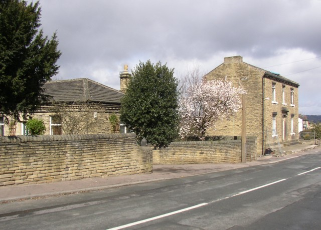 Lodge and house, Rastrick Common, Rastrick