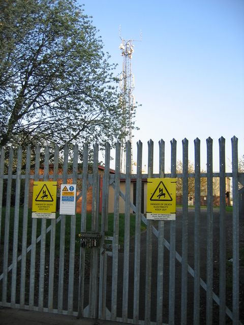 Campion Hill mobile 'phone mast