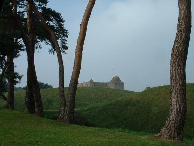 Castle Rising Castle.