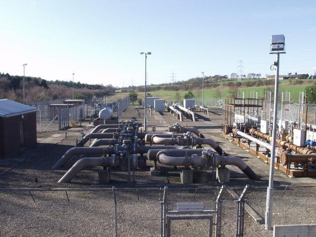 Gas pipeline facility