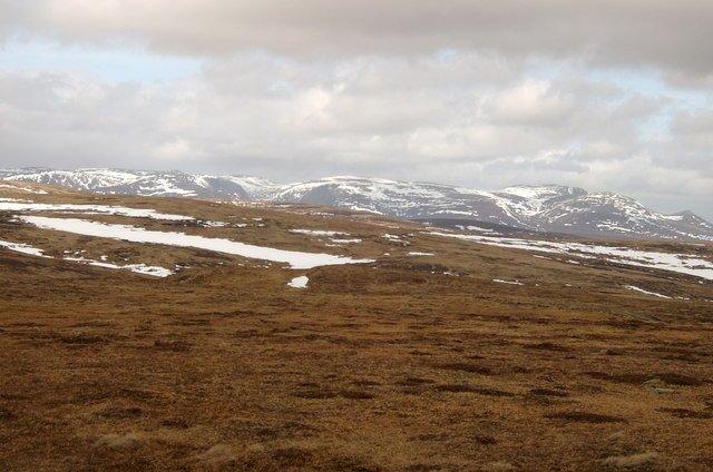 Looking toward Lochnagar