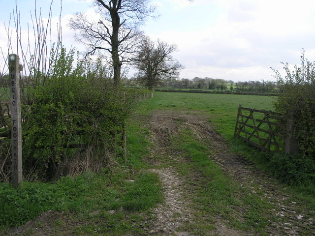 Footpath to Sutton