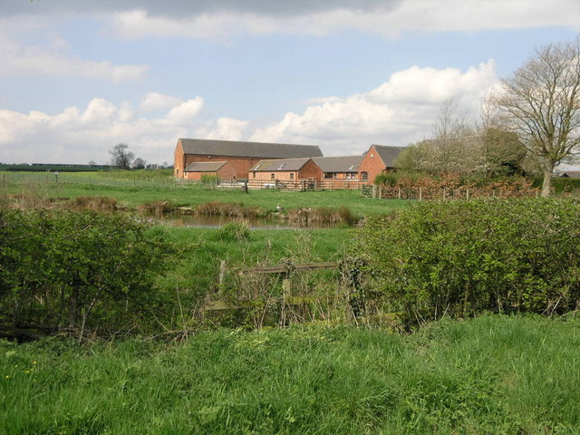 Farm and Pond