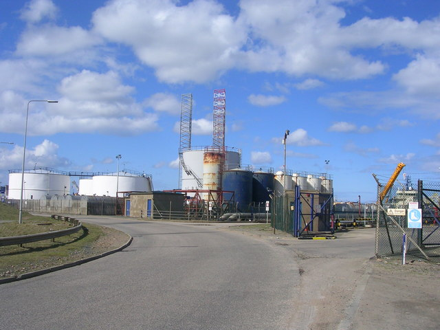 Oil Storage Depot, Peterhead