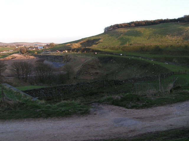 Site of Burbage Reservoir