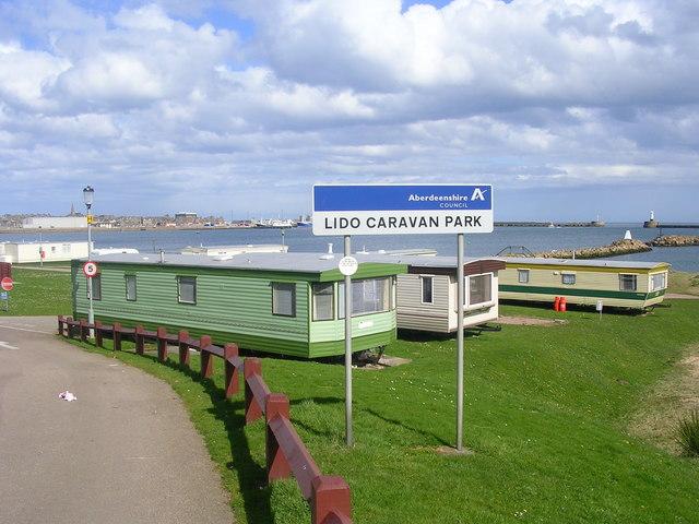 Lido Caravan Park, Peterhead