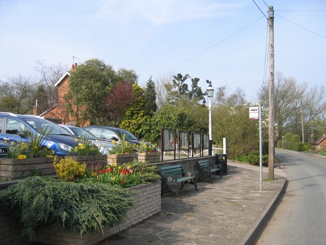 Rowney Green bus stop