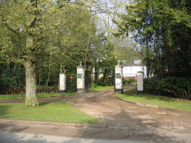 Gates at Beoley Hall