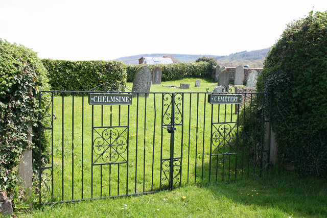 Pitminster: cemetery at Chelmsine chapel