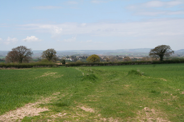 Trull: north from Cutsey
