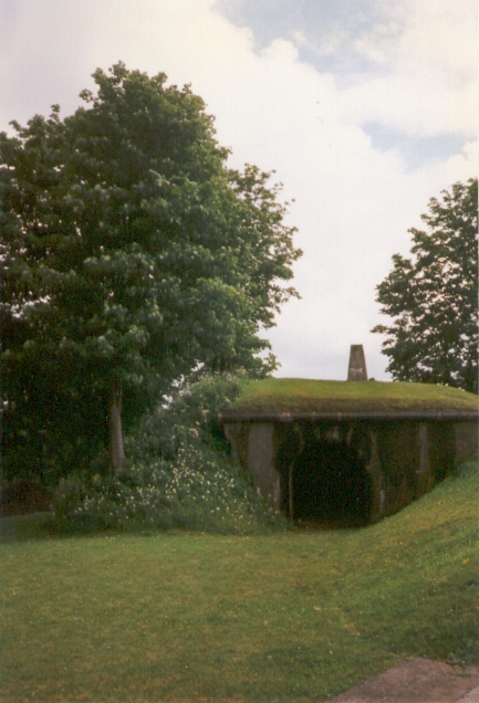 Trig Pillar, Crownhill Fort 1997